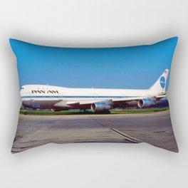PanAm 747 Clipper Rectangular Pillow