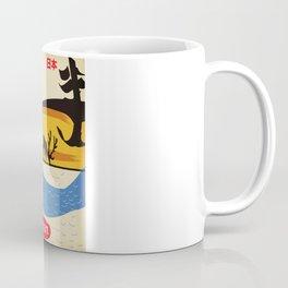Japan vintage  travel poster. Coffee Mug