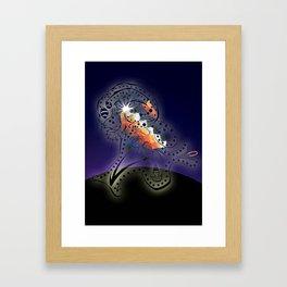 Fertil head Framed Art Print