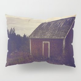 Red Barn Pillow Sham