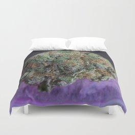 Grape Ape Medicinal Medical Marijuana Duvet Cover