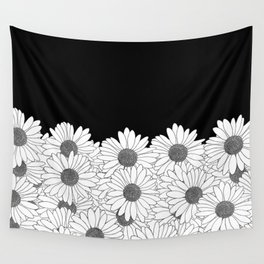 Daisy Boarder Wall Tapestry
