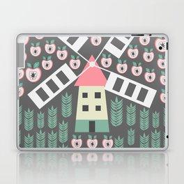 Windmill, apples and grains Laptop & iPad Skin