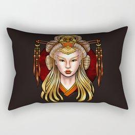 Rapunzel (light variant) Rectangular Pillow