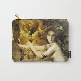 The Blessed Temperance, Gold Carry-All Pouch