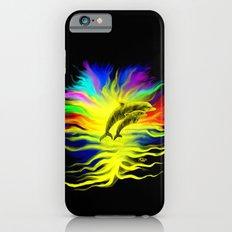 Dolphins in the Sunshine - Fantasy Rainbow-Art iPhone 6s Slim Case