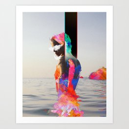 Seean Art Print