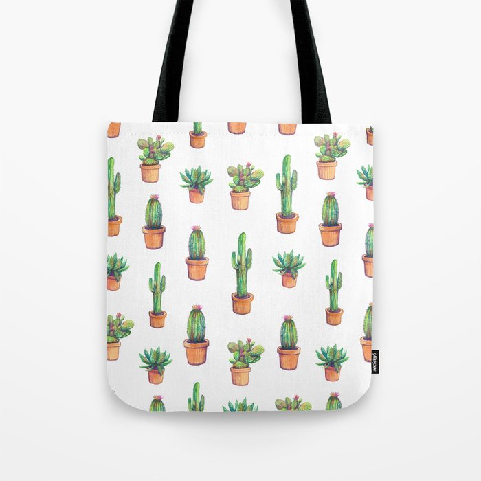 my old caactus are back Tote Bag