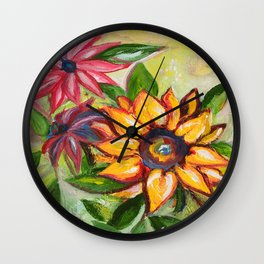 A burst of sweetnes Wall Clock
