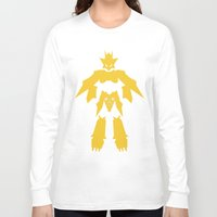 digimon Long Sleeve T-shirts featuring Magnamon by JHTY