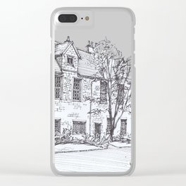York Quadrangle Clear iPhone Case