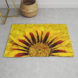 Sunflower Indian Style Mosaic pattern Rug