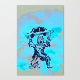Sasquatch & Me Canvas Print
