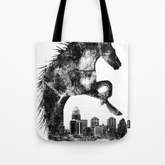 Home Of The Derby Tote Bag