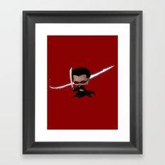 Chibi Blade Framed Art Print