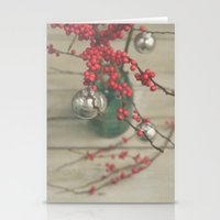 holiday Stationery Cards featuring Holiday by Olivia Joy StClaire