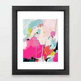 pink sky II Framed Art Print