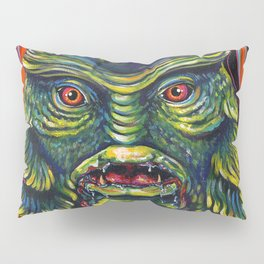 Creature From The Black Lagoon Pillow Sham