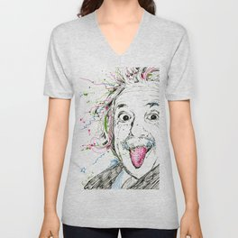 Einstein! Unisex V-Neck