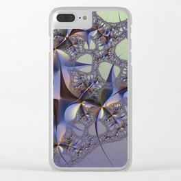 Thorns Weaving Lace Clear iPhone Case