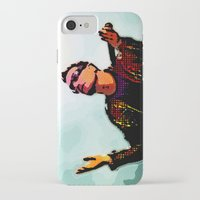 u2 iPhone & iPod Cases featuring U2 / Bono 2 by JR van Kampen