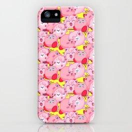Kirbypuff iPhone Case