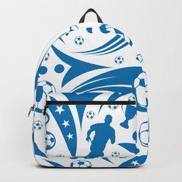 Soccer Seamless Pattern Backpack