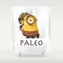 Paleo Minion Shower Curtain