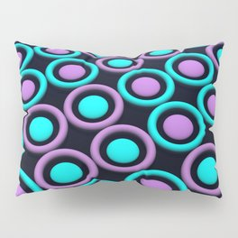 Rings and Discs Pillow Sham