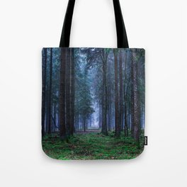 Green Magic Forest - Landscape Nature Photography Tote Bag