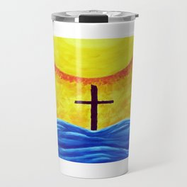 No Matter What Your Race Jesus Saves All By Grace By Annie Zeno Travel Mug