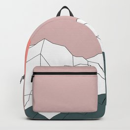 Geometric Landscape 17 Backpack