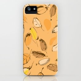 Arbutus leaves iPhone Case
