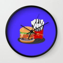 Fast Music Wall Clock
