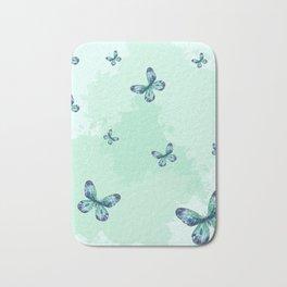 Butterflies III Bath Mat