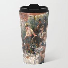 Auguste Renoir - Luncheon of the Boating Party (Le déjeuner des canotiers) Travel Mug
