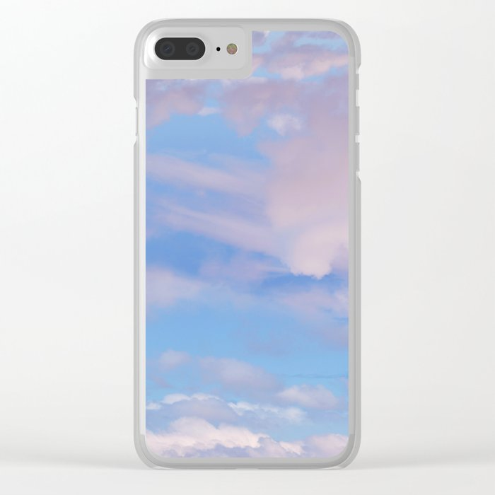 The Colour of Clouds 05 Clear iPhone Case