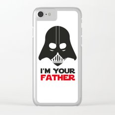 Darth Vader, Father, Wars Clear iPhone Case
