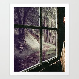 Window to the Forest Art Print