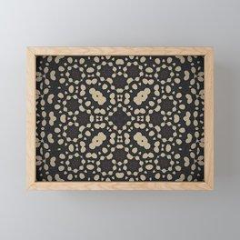 Pebble Mosaic Framed Mini Art Print