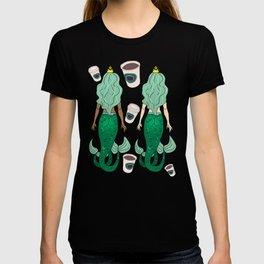 Star Butts Coffee Mermaids T-shirt