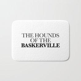 THE HOUNDS OF THE BASKERVILLE Bath Mat