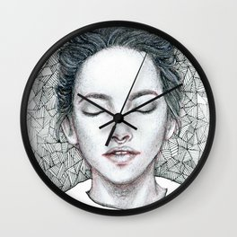 Runaway thoughts Wall Clock