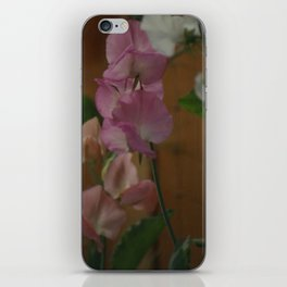 Sweetpeas iPhone Skin