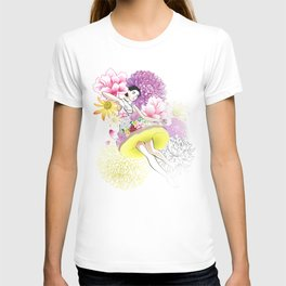 Floral Odyssey T-shirt