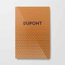 DUPONT | Subway Station Metal Print