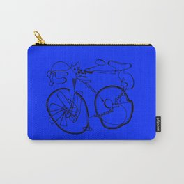 10-Speed -- Blue Carry-All Pouch
