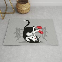 Boxer Cat Rug