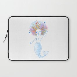Coral the Mermaid Laptop Sleeve
