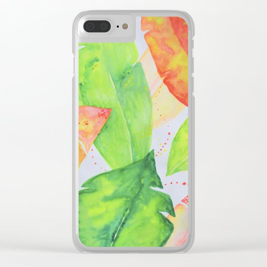 Botanical vibes 07 Clear iPhone Case